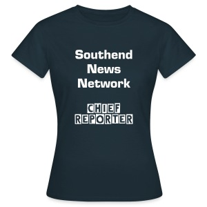Southend News Network Chief Reporter T-Shirt - Ladies - Women's T-Shirt