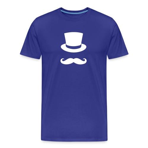 The Gentlemens (Königsblau) - Männer Premium T-Shirt