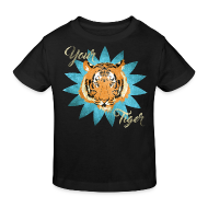 Tee shirts ~ Tee shirt Bio Enfant ~ Your tiger vintage