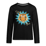 Manches longues ~ Tee shirt manches longues Premium Ado ~ Your tiger vintage