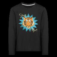 Manches longues ~ Tee shirt manches longues Premium Enfant ~ Your tiger vintage