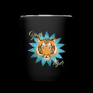 Bouteilles et Tasses ~ Tasse en couleur ~ Your tiger vintage
