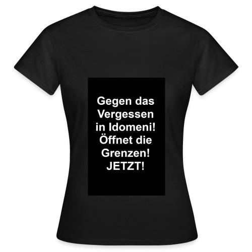 Gegen das Vergessen Frauen - Frauen T-Shirt