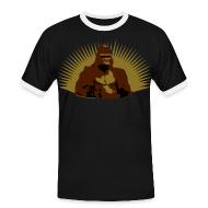 Tee shirts ~ Tee shirt contraste Homme ~ Gorille Afrique