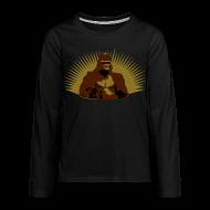 Manches longues ~ Tee shirt manches longues Premium Ado ~ Gorille Afrique