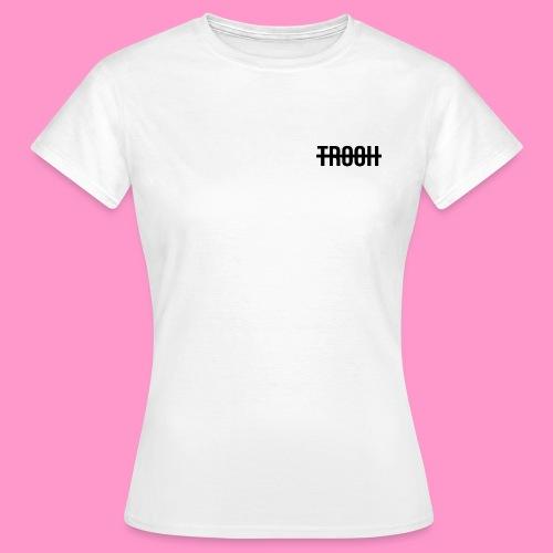 Trooh Hippi Season 1 White (Womens) - Women's T-Shirt