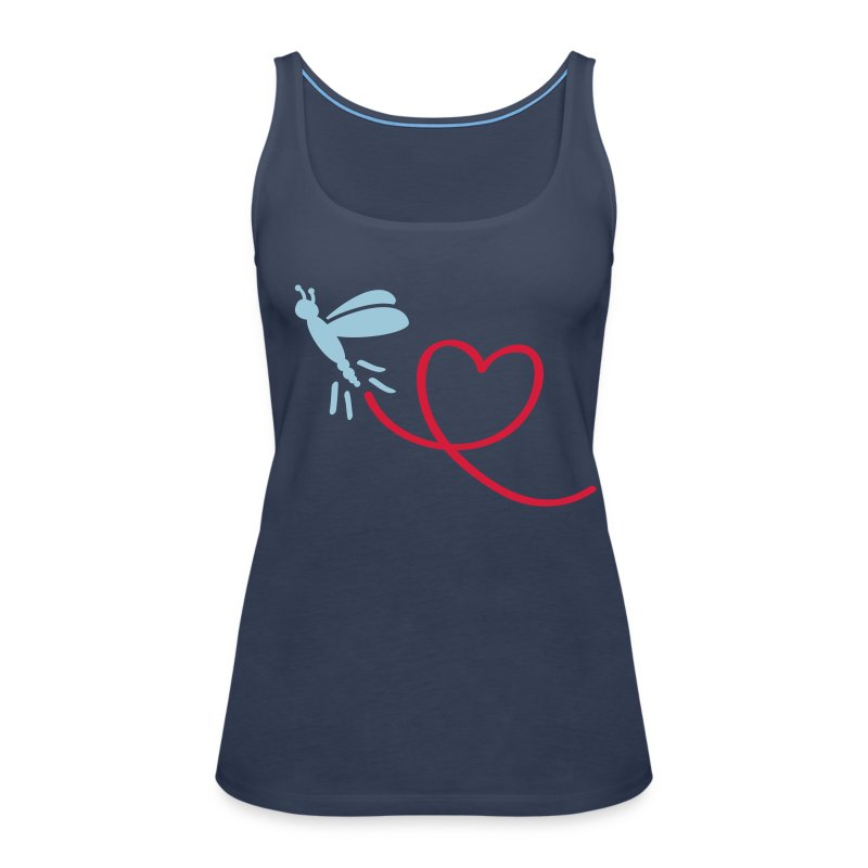 I heart dragonfly - Frauen Premium Tank Top