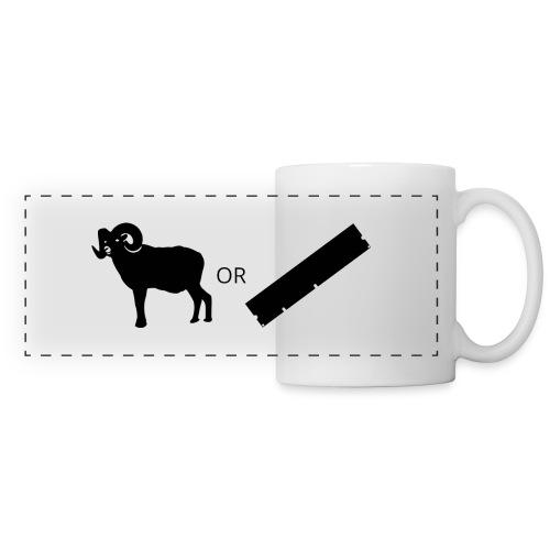 Ram or RAM - Panoramic Mug