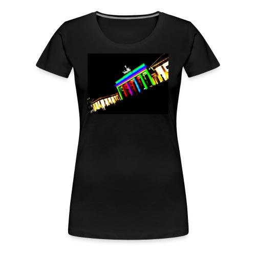 Illuminated Gate - Frauen Premium T-Shirt