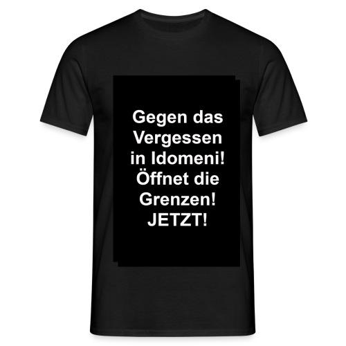 Gegen das Vergessen Männer - Männer T-Shirt