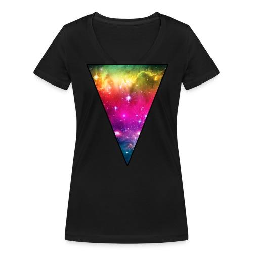 Stardust - Frauen Bio-T-Shirt mit V-Ausschnitt von Stanley & Stella