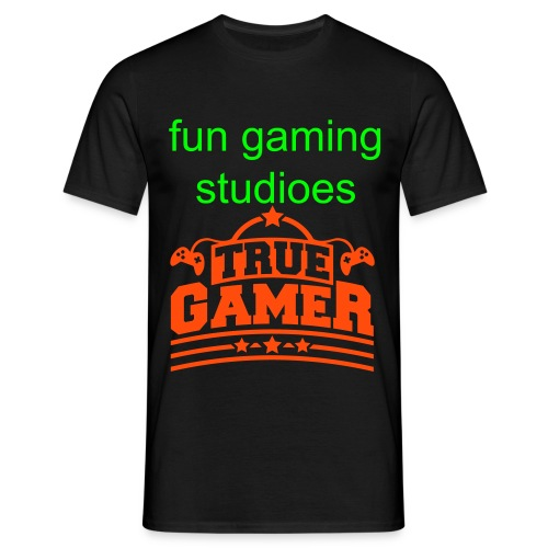 true gamer - Men's T-Shirt