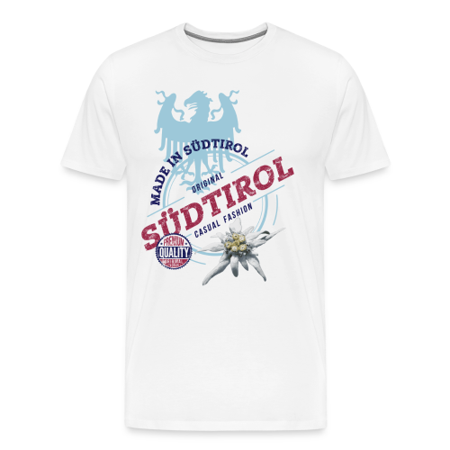 MADE IN SÜDTIROL - Männer Premium T-Shirt