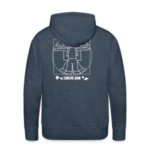 ZeBloc Capuche Vert - Sweat-shirt à capuche Premium pour hommes