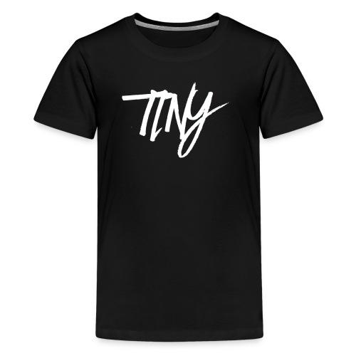 BLACK AND WHITE TINY T-SHIRT - Teenage Premium T-Shirt