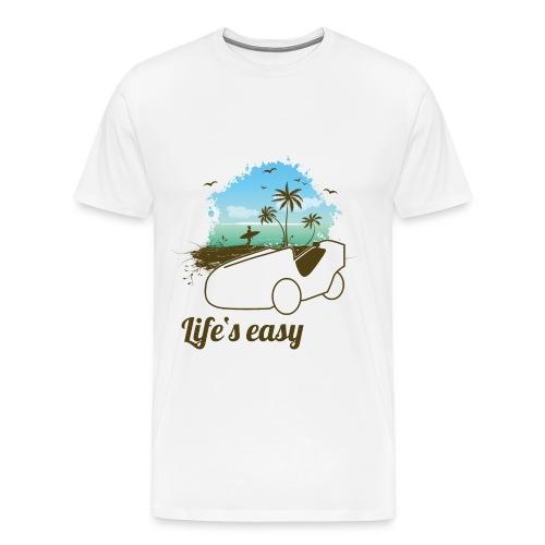 Life's easy Alleweder A6 - Männer Premium T-Shirt