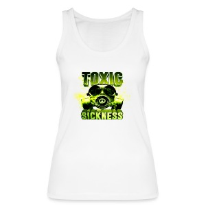 NEW Ladies Toxic Sickness Vest - Women's Organic Tank Top by Stanley & Stella