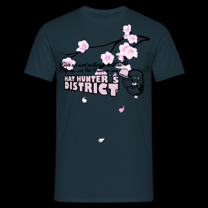 HatHunter cherry blossoms tee - Männer T-Shirt