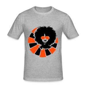 Afro Style  - Men's Slim Fit T-Shirt