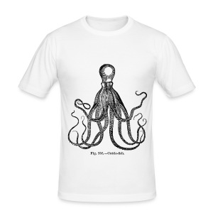 Octopus men tight tee - Tee shirt près du corps Homme
