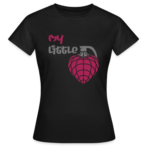My little hand grenade - Frauen T-Shirt