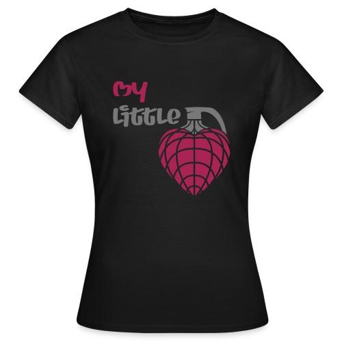 My little hand grenade - Frauen T-Shirt