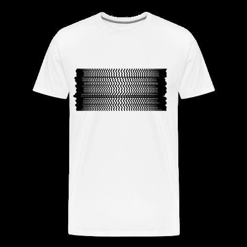 ONDAman white - Männer Premium T-Shirt