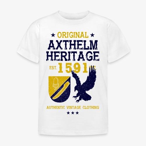 Axthelm Retro Design - Kinder Shirt - Kinder T-Shirt