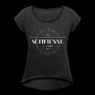 Tee shirts ~ T-shirt Femme à manches retroussées ~ Sétifienne et fière