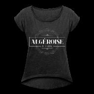 Tee shirts ~ T-shirt Femme à manches retroussées ~ Algéroise et fière