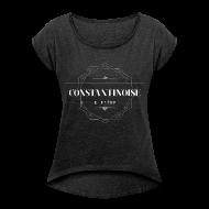 Tee shirts ~ T-shirt Femme à manches retroussées ~ Constantinoise et fière