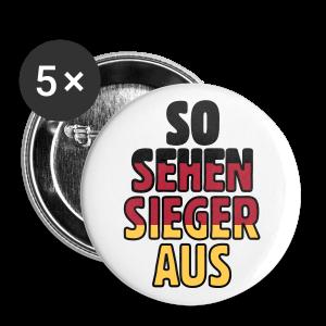 So sehen Sieger aus Anstecker (Groß) - Buttons groß 56 mm