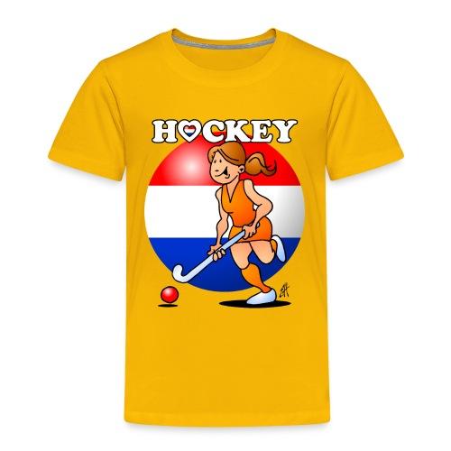 Nederländska kvinnor hockey T-shirts - Kids' Premium T-Shirt