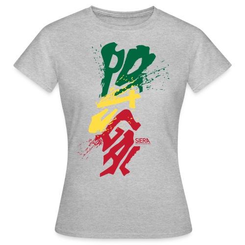 POTUGAL FEMME COL ROND - T-shirt Femme