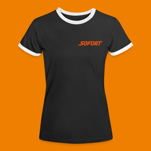 SOFORT Woman - Contrast - Frauen Kontrast-T-Shirt