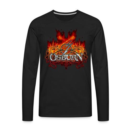 Osburn Lonsleeve Man - Männer Premium Langarmshirt