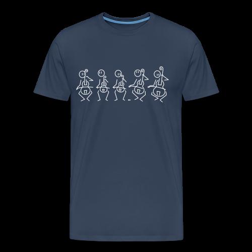 Gamba consort - Men's Premium T-Shirt