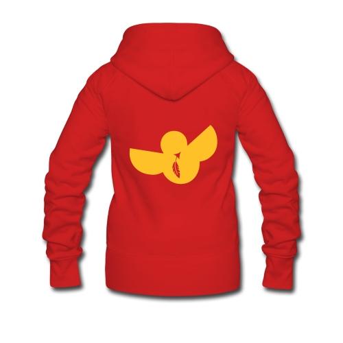 designbar.womanjacket - Frauen Premium Kapuzenjacke