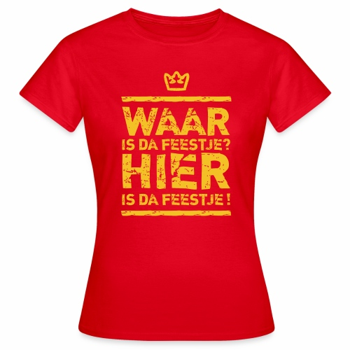 Feestje Girls - Women's T-Shirt