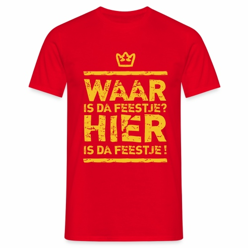 Feestje  - Men's T-Shirt