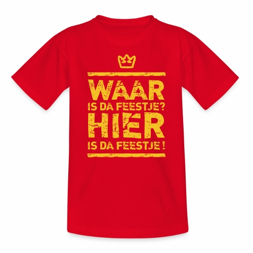 Feestje Kids  - Kids' T-Shirt