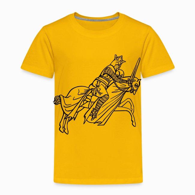 Tshirt Enfant Chevalier