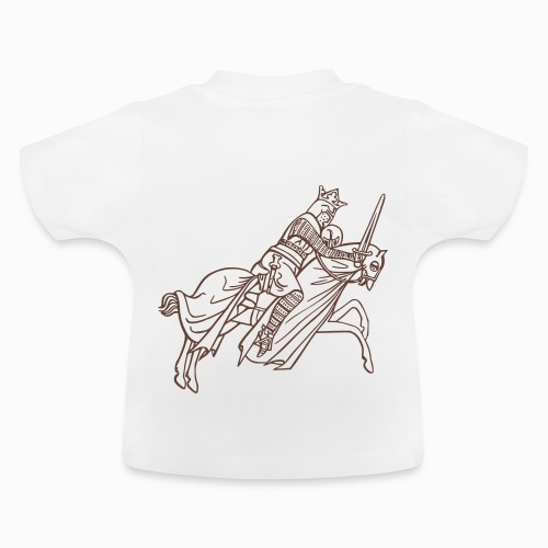 Tshirt manches courtes Chevalier - T-shirt Bébé