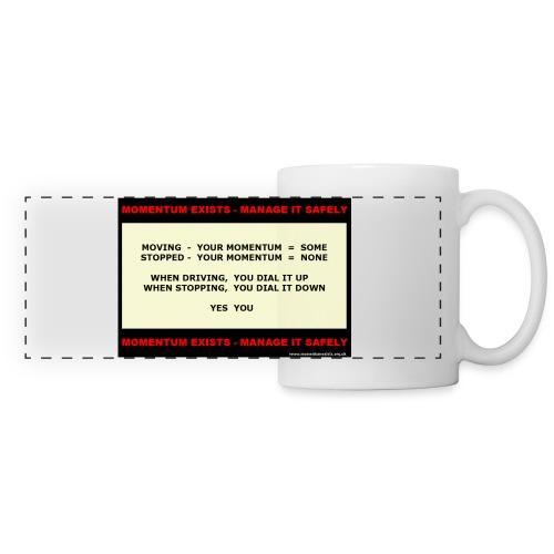 You Dial It Contrast Colour Mug - Panoramic Mug