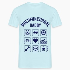 Multifunctional Daddy (9 Icons) T-Shirts