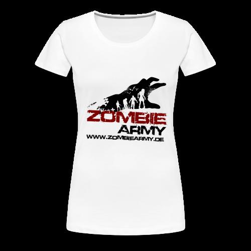 ZA Shirt Frauen MIT Gamertag - Frauen Premium T-Shirt