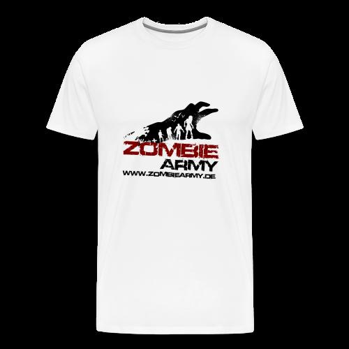 ZA Shirt Männer MIT Gamertag - Männer Premium T-Shirt