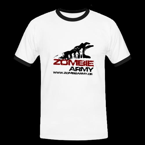 ZA Shirt Männer 2 MIT Gamertag - Männer Kontrast-T-Shirt