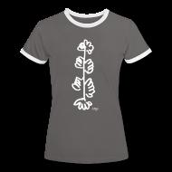 Tee shirts ~ Tee shirt contraste Femme ~ Arbre a mains blanc d'AMJB, signé