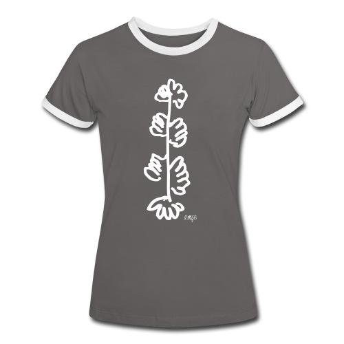 Arbre a mains blanc d'AMJB, signé - T-shirt contrasté Femme